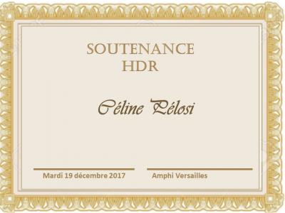 HDR Céline Pélosi