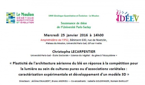 soutenance thèse Christophe Lecarpentier