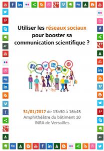 Utiliser les réseaux sociaux pour booster sa communication scientifique ?