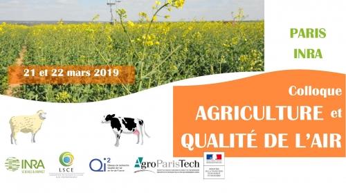 Colloque Agriculture et Qualité de l'air