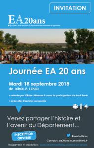 Journée EA 20 ans