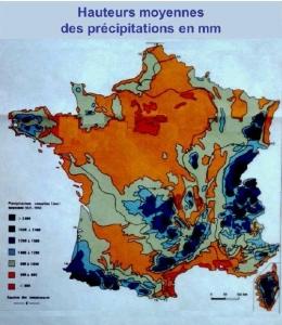 Analyses des pluies à Grignon