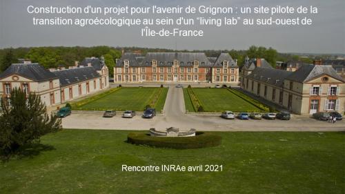Construction d'un projet pour l'avenir de Grignon