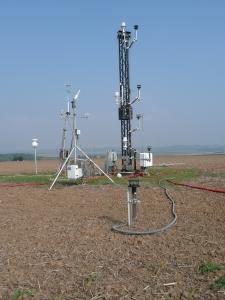 Dispositif de mesure sur le site de Grignon
