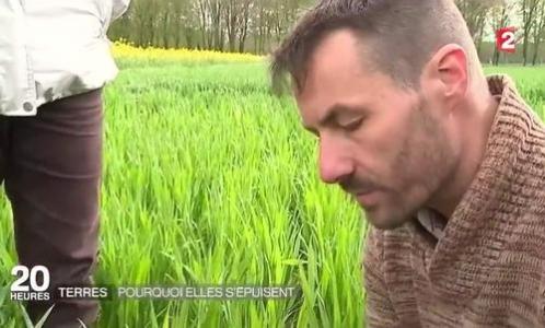 Reportage France 2 JT 20 h Mickaël Hedde
