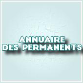 ANNUAIRE DES PERMANENTS