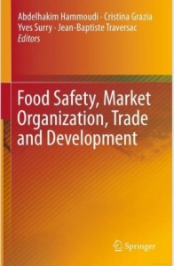 "couverture ""Food Safety, Market Organization, Trade and Development"""