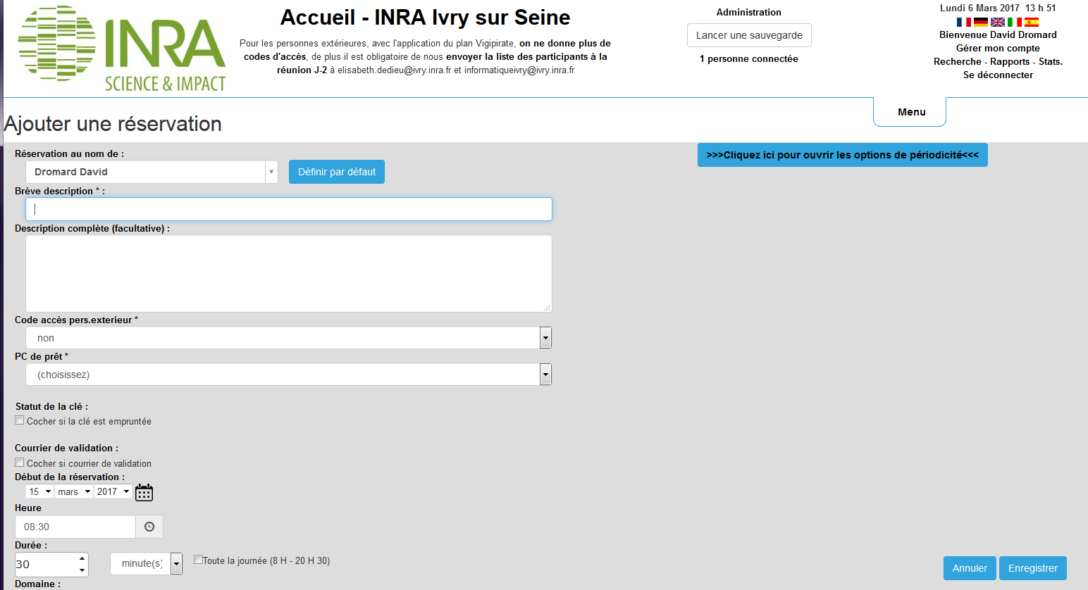 Inra Sae2 Site D Ivry Sur Seine Reservations
