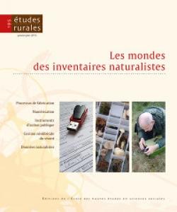 Revue Études rurales, n° 195