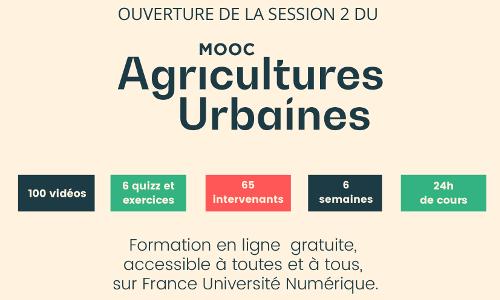 MOOC agricultures urbaines